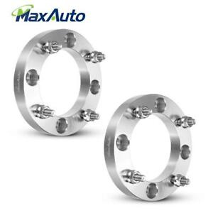 2 1 Atv 4x137 Wheel Spacers For M10x1 25 Stud For 07 15 Can am Commander 1000