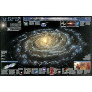 National Geographic Re00622040 Map Of The Milky Way