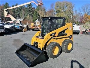 12 Caterpillar 236b3 Skidsteer Loader 74 Hp Turbo Diesel 3671 Hrs 3rd Valve