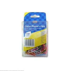 Colored Paper Clips 24 Packs Of 150