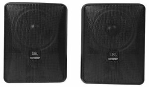 2 Jbl Control 25 1 5 25 30w 70v Wall mount Commercial Restaurant bar Speakers