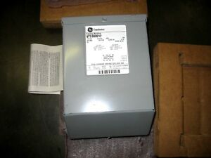General Electric 9t51b0012 Single Phase 2 Kva Transformer 240 480 120 240 60hz