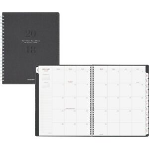 At a glance Yp90045 Signature Monthly Planner Gray