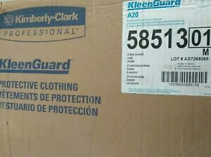 Kimberly Clark Kleenguard Blue A20 Coveralls Elastic Back Wrists Ankles 20