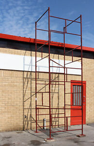 New D i y Steel Scaffold Tower Scaffolding Tower 4x4x18 wh Hd
