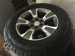2015 2019 Chevrolet Colorado 17 Inch Wheels Set Of 4 Oem Rims With Tires New