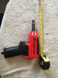 Snap On Mg325 Impact Wrench New Some Dings Red 1 2 Drive