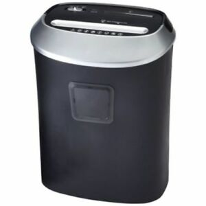 Avgo 12 Sheet Crosscut Paper Shredder Black