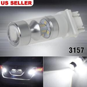 3157 High Power 60w Backup Reverse Light Bulbs Car Led Projector X1