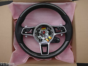 Porsche 991 2017 Turbo S 718 Boxster Cayman M f Carbon Fiber Steering Wheel