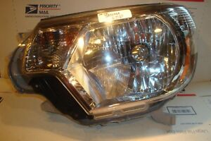 Factory Oem 12 15 Toyota Tacoma Left Halogen Headlight Chrome 2013 2014 2015