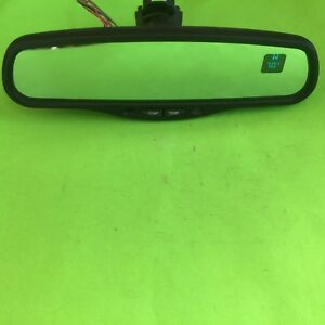 00 02 Chevy Silverado Gmc Sierra Rear View Mirror Compass Temperature Custom Oem