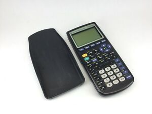 Graphing Calculator Ti 83 Plus Texas Instruments W Cover Tested Works Great