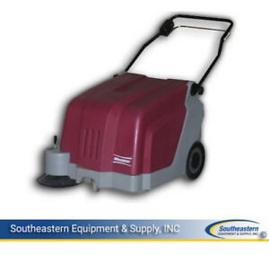 New Minuteman Ks25w Battery Operated Walk behind Carpet Sweeper