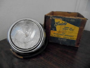 1949 1950 1951 1952 Chevrolet Bel Air Styleline Fleetline Deluxe Nos Headlamp
