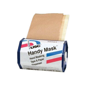 Usc 38081 Handy Mask Hand Masking Tape Paper Dispenser 7 Inch X 65