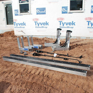 Aluminum Pump Jack Scaffold Includes 2 24 Aluminum Poles 2 Pump Jacks