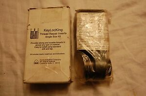 Acme Keylocking Thread Repair Inserts 1 1 2 12 Khd