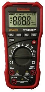 Dawson Tools Ddm230b Digital Multimeter With Usb