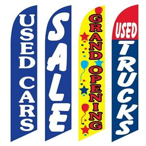 4 Swooper Flags Used Cars Sale Grand Opening Used Trucks