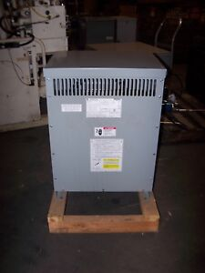 New Ge 25 Kva Dry Type Transformer 240 480 Hv 120 240 Lv 1 Phase 9t832671