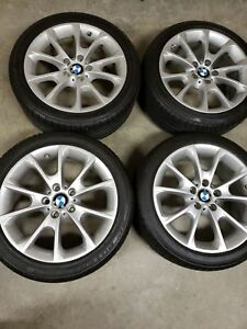 18 Inch Oem Factory Bmw Rims And Tires With Tpm Sensors