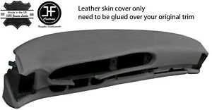 Grey Leather Oval Dash Dashboard Cover For Porsche 944 968 86 95 Style 2