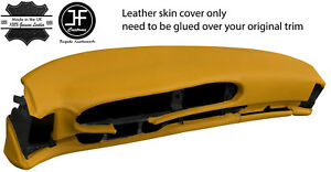 Yellow Leather Oval Dash Dashboard Cover For Porsche 944 968 86 95 Style 2