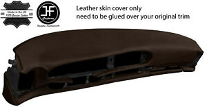 Brown Leather Oval Dash Dashboard Cover For Porsche 944 968 86 95 Style 2
