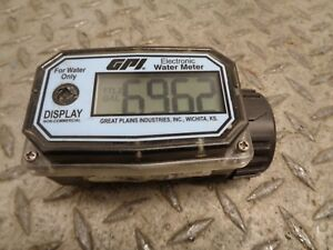 Gpi Electronic Water Meter 01n31gm