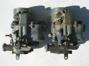 2 Flathead Ford Holley Model Ecw 94 2110 2 Two Barrel Carb 2x2 3x2 Tripower