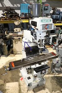 Manford Sp 150vsl Vertical Mill 9 X 48 Table Anilam Wizard 211 X y Dro