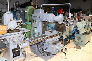 Cincinnati Cinel 60 Dh Universal Mill 12 X 60 Table Powered X y z
