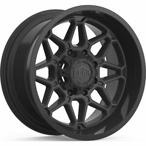 20x10 Black Crossbow 6x135 6x5 5 25 Wheels Open Country Mt 35 Tires