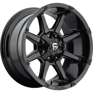 20x10 Gloss Black Fuel Coupler 6x135 6x5 5 12 Rims Open Country Mt 35 Tires