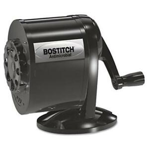 Stanley Bostitch Table wall mount Antimicrobial Manual Pencil Sharpener Black