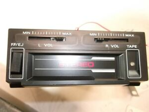 Vintage 70 s 80 s Mini Under Dash Cassette Player New Chevrolet Gm Ford Mopar