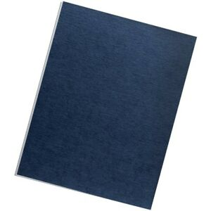 Fellowes Expression Linen Presentation Covers 44 Letter 44 200pk navy Flw