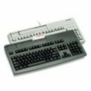 Cherry G81 8000lpdus 2 G81 8000 Ps 2 Keyboard With Magnetic Stripe Reader Wire
