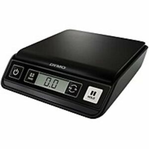 Dymo Pelouze 1772056 M5 Digital Postal Scale 5 Lbs Black