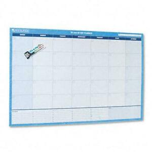At a glance 30 60 day Format Reversible erasable Undated Wall Planner 48 X 32