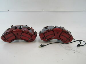 08 Mercedes W216 Cl63 Brake Calipers Amg Front Oem