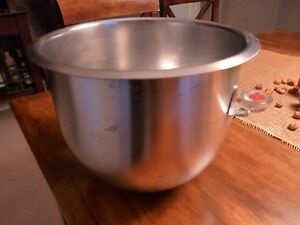 Hobart 275681 Mixer Mixing Bowl For 10 Quart C100 C100t Mixers Stainless Steel