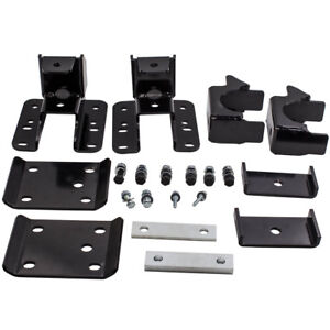 Rear Axle Lowering For Silverado 1500 Custom Crew Cab Pickup Axle Flip Kit 5