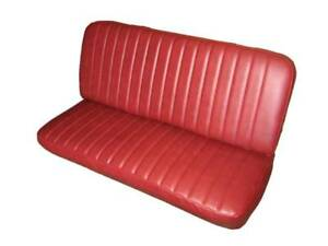 Willys Utility Pickup Front Bench Seat Upholstery With Pleats 1946 1962 U S A