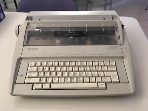 Brother Gx 6750 Daisy Wheel Electronic Typewriter Correction Works Excellent