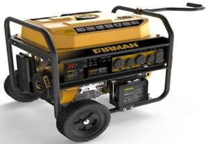 Firman Power Equipment 8000 10000w Remote Start Gas Generator With Wheel Kit