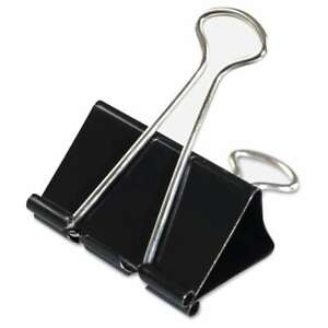 Universal Black silver Large Binder Clips 7 Packs Of 12
