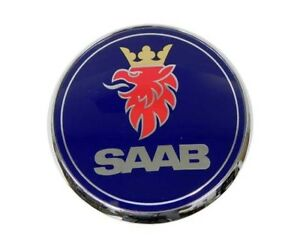 Trunk Emblem Genuine For Saab 5289889