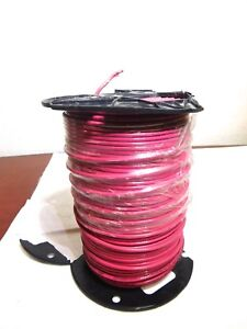 Southwire 10 Awg Mtw Copper Wire Red Solid Thhn thwn 500ft 11597201 Usa